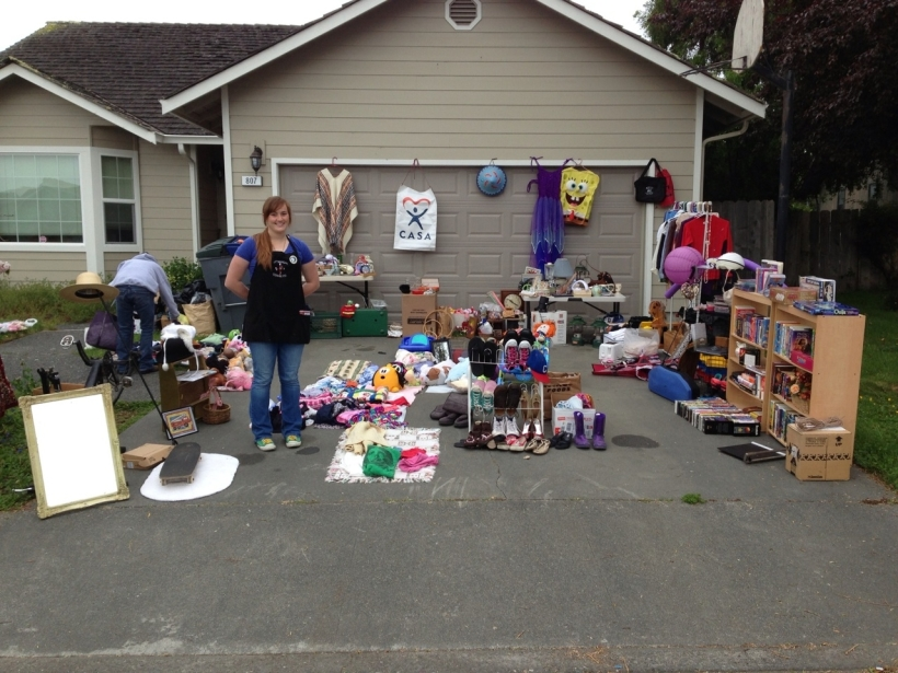May 2013 yard sale