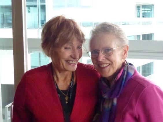 Councilwoman Sally & Patti on Tour