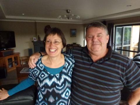 Shirley & Grant in Rotorua