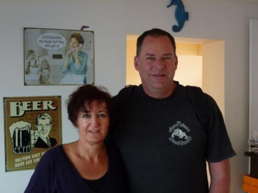 Wellington Hosts Lisa & Moritz